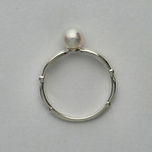 Load image into Gallery viewer, Silver925 Akoya Pearl Ring (96-8024)-Ring-Jewels Japan