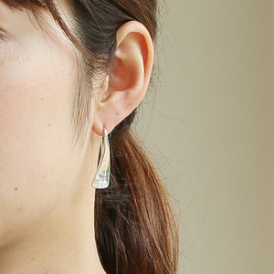 Silver925 Diamond Earring (96-8027)-Earring-Jewels Japan