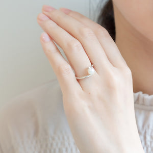 Silver925 Akoya Pearl Ring (96-8035)-Ring-Jewels Japan