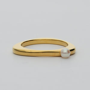 Silver925 Akoya Pearl Ring (96-8038)-Ring-Jewels Japan