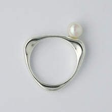 Load image into Gallery viewer, Silver925 Akoya Pearl Ring (96-8041)-Ring-Jewels Japan