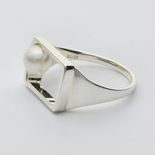 Load image into Gallery viewer, Silver925 Akoya Pearl Ring (96-8043)-Ring-Jewels Japan