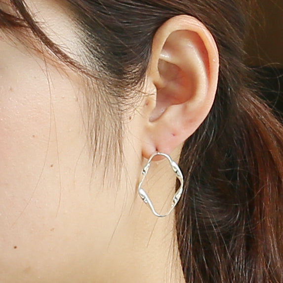 Silver925 Earring (96-8046)-Earring-Jewels Japan