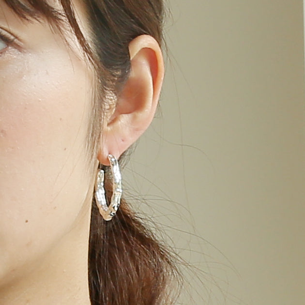 Silver925 Earring (96-8047)-Earring-Jewels Japan
