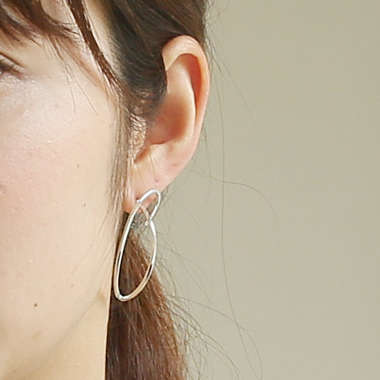 Silver925 Earring (96-8050)-Earring-Jewels Japan