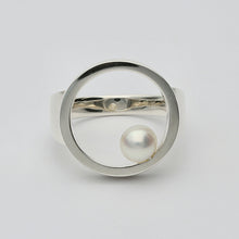 Load image into Gallery viewer, Silver925 Akoya Pearl Ring (96-8052)-Ring-Jewels Japan