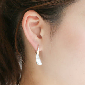 Silver925 Diamond Clip-on Earrings (96-8077)