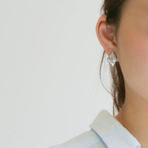 Silver925 Clip-on Earrings (96-8080)