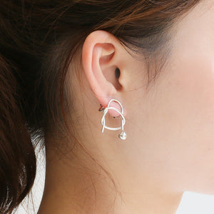 Silver925 Clip-on Earrings (96-8087)