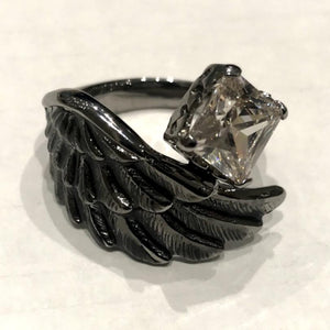Zirconia Wing Ring Jewels Japan