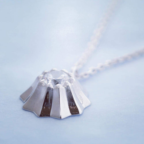SV925 Mt. fuji Necklace-Necklace-Jewels Japan
