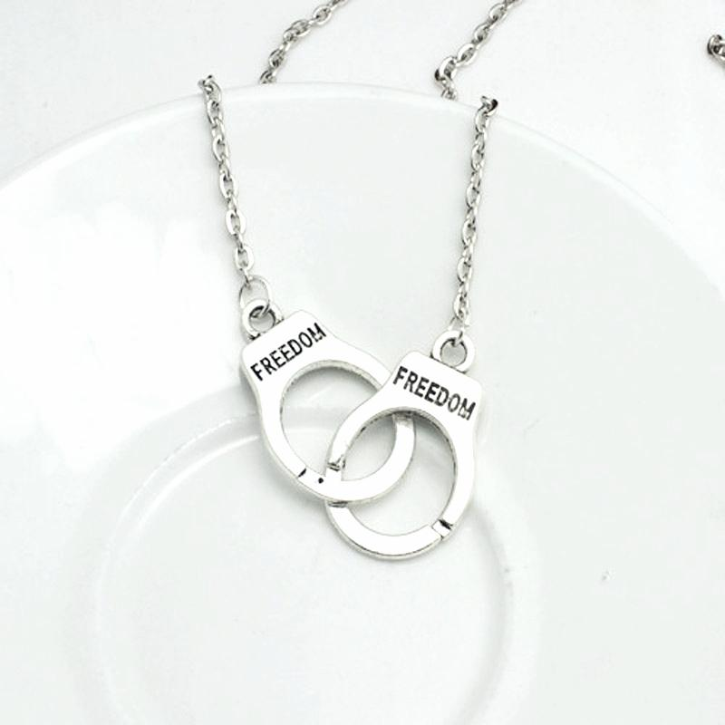Handcuff'd - Freedom Necklace