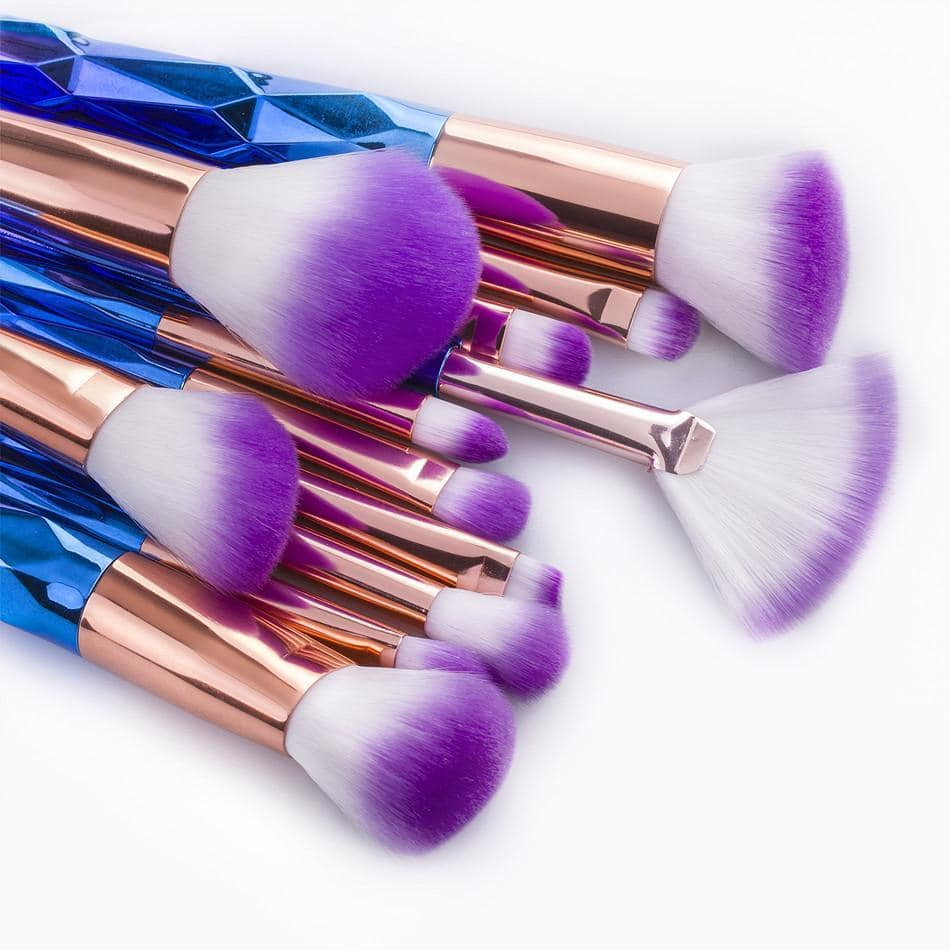 Unicorn Makeup Brushes (12 Piece Set)