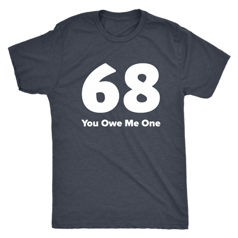 The 68 Navy Tee (Men/Women)