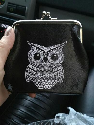 Wide-eyed Owl Coin Purse