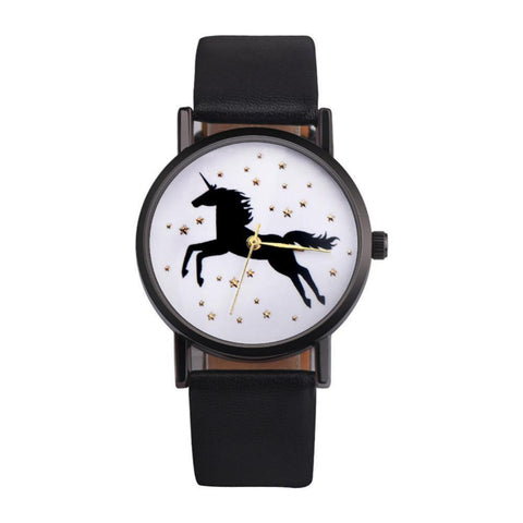 The Amazing Unicorn Watch - Cherry & Oak