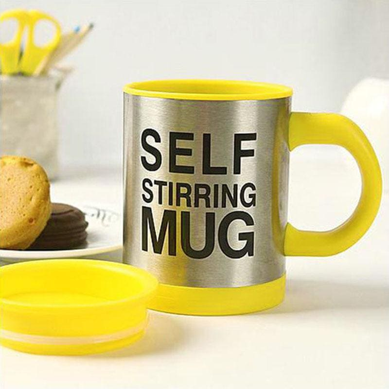 Self Stirring Mug - Cherry & Oak