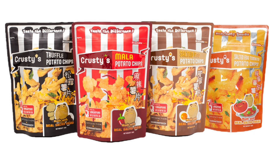 CRUSTY'S POTATO CHIPS ARE NOW AVAILABLE! GRAB YOURS NOW!