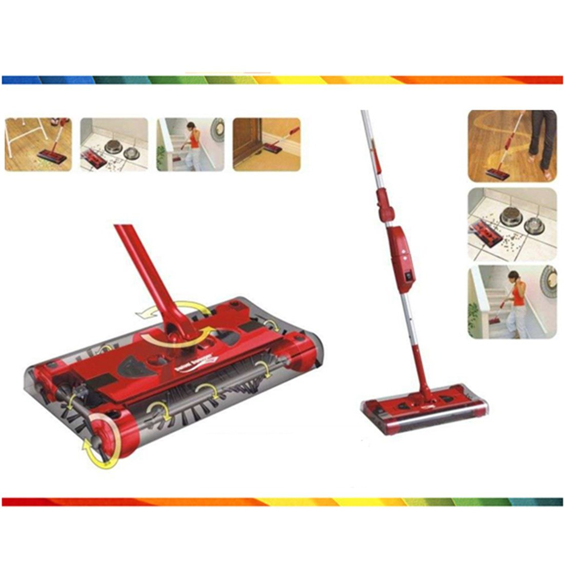 Automatic Sweeping Robot Vacuum Cleaner Electric Broom Stick