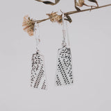Bhineka Silver Dangle Earrings