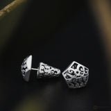 Bhinneka Traditional Earrings in Sterling Silver