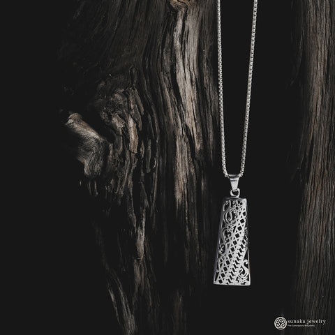 Bhinneka Pendant in Sterling Silver (Pendant only without chain)