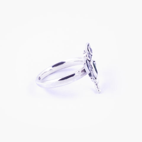 Capung Bali Ring in Sterling Silver