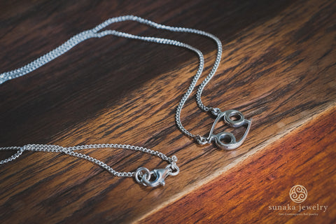 Zodiac Necklace in Sterling Silver