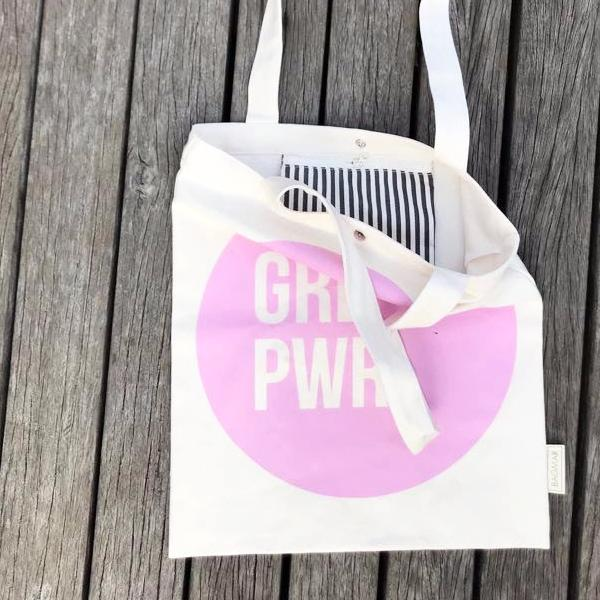 Tote bag | Girl power pink