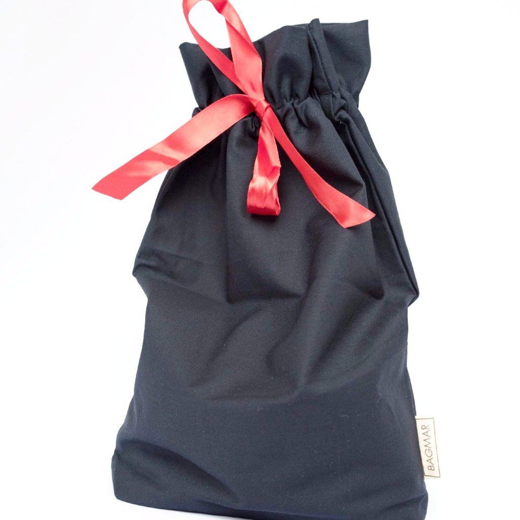 Dark blue gift bag