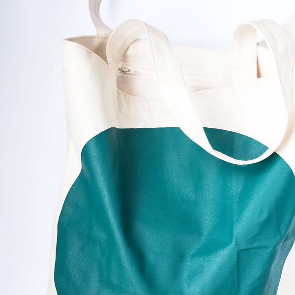 Tote bag | Dot green
