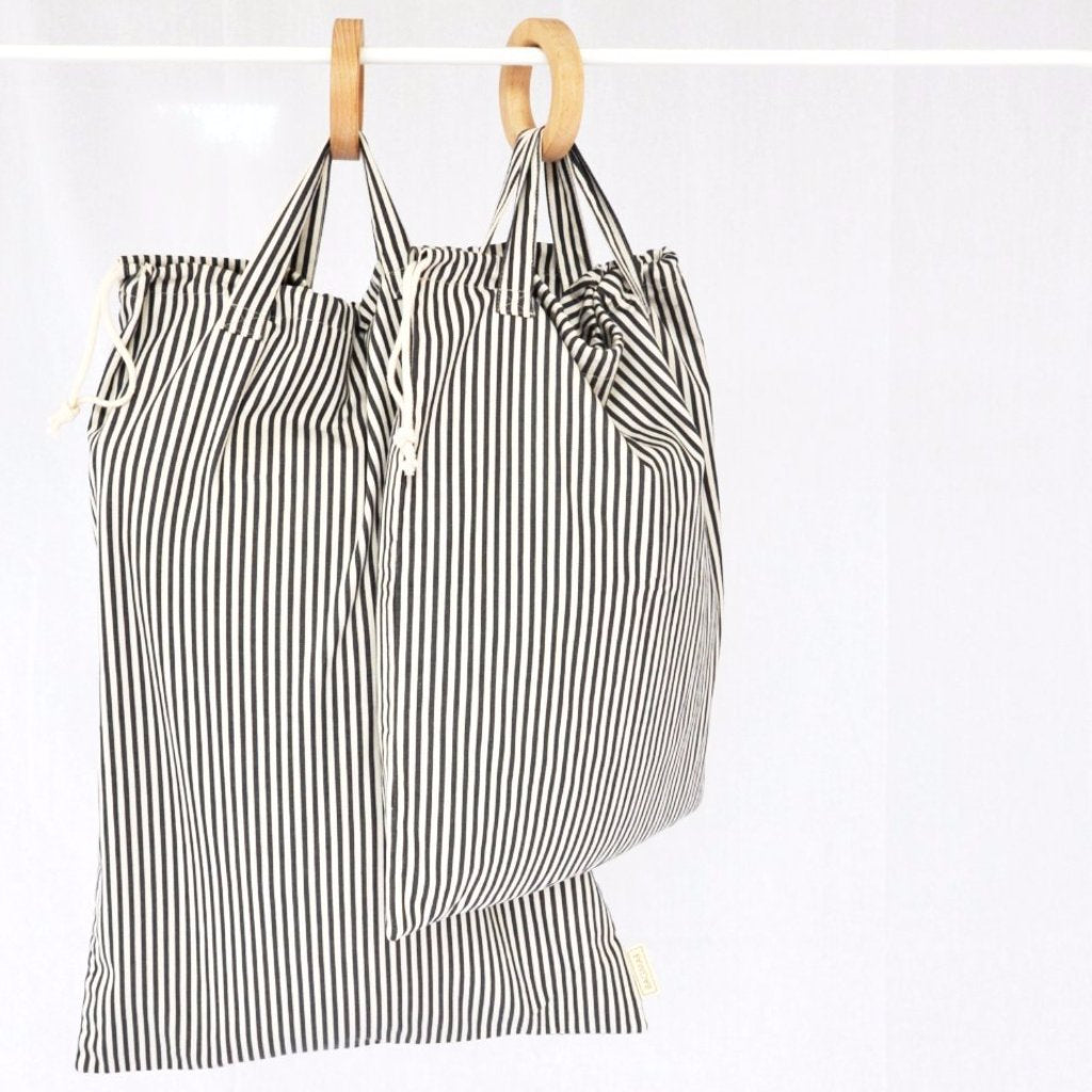 Laundry bags - storage bags | 2-pack striped