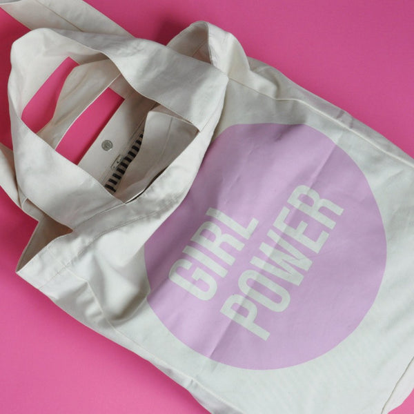 Tote bag | pink girl power | Bagmar