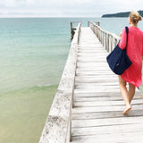 Beach bag & large tote bag blue | Bagmar