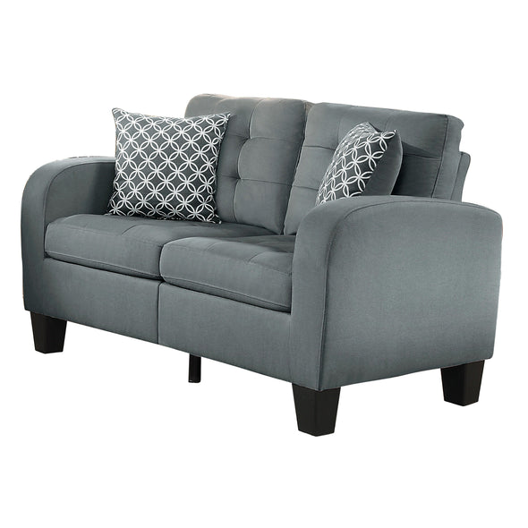 Sinclair Gray Living Room Set - Luna Furniture
