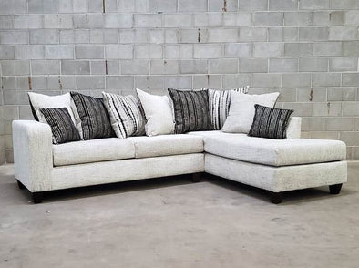 Dove Off-White RAF Sectional