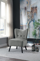 Imani Gray Accent Chair - Luna Furniture