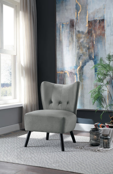 Imani Gray Accent Chair