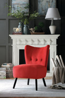 Imani Red Accent Chair - Luna Furniture