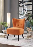 Imani Orange Accent Chair - Luna Furniture