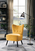 Imani Yellow Accent Chair - Luna Furniture