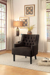 Charisma Chocolate Accent Chair - Luna Furniture
