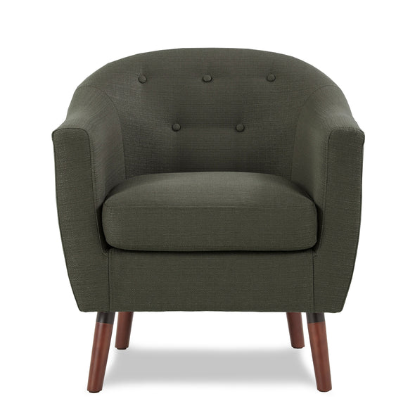 Lucille Gray Accent Chair - Luna Furniture