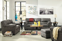 Bladen Slate Living Room Set - Luna Furniture