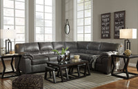 Bladen Slate RAF Sectional - Luna Furniture