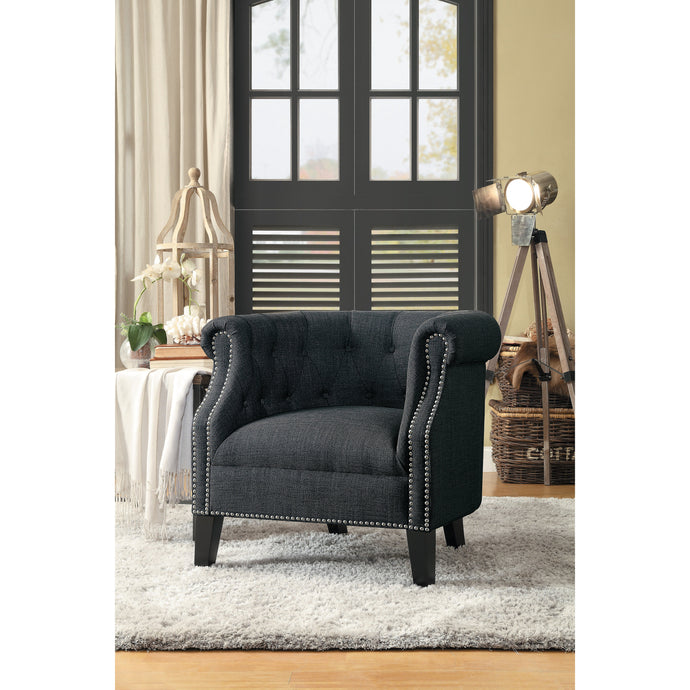 [MONTHLY SPECIAL] Karlock Gray Accent Chair | 1220 - Bellaria Furniture HomeStore