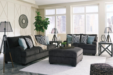 Charenton Charcoal Living Room Set | 14101