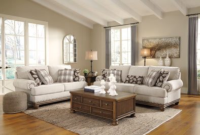 [SPECIAL] Harleson Wheat Living Room Set - Luna Furniture