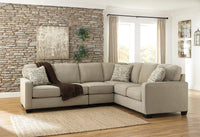 Alenya Quartz RAF Sectional - Luna Furniture
