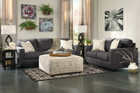 Alenya Charcoal Living Room Set - Luna Furniture